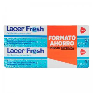 Duplo Lacer Fresh Gel Dental 2x125ml