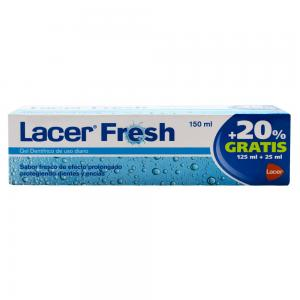 Lacer Fresh Gel Dentífrico 150ml (125ml + 20% Gratis)