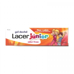 Lacer Júnior Gel Dental Fresa 75ml