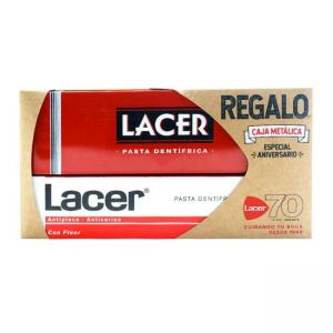 Lacer Pasta Dental 125ml + Caja Metálica de Regalo