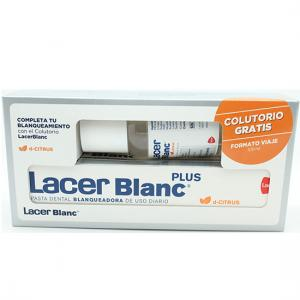 Lacer Pasta Dental Blanqueadora d-citrus 125 ml + Colutorio Lacer Blanc d-citrus 100 ml