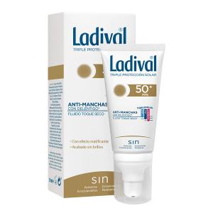 Ladival Acción Antimanchas con Deléntigo Fluido Toque Seco SPF50+ 50ml