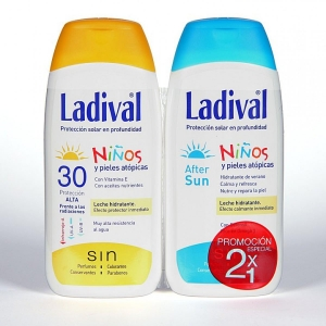 Ladival Duplo Niños SPF30 200ml + After Sun 200ml