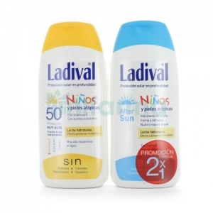 Ladival Duplo Niños SPF50+ 200ml + After Sun 200ml