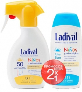 Ladival Duplo Niños Spray SPF50+ 200ml + Aftersun 200ml
