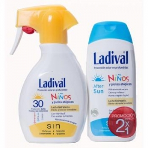 Ladival Duplo Niños Spray SPF30 200ml + After Sun 200ml