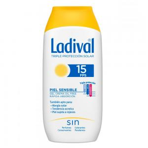 Ladival Pieles Sensibles o Alérgicas SPF15 Gel Crema 200ml