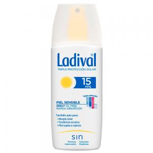 Ladival Spray Oil Free Pieles Sensibles o Alérgicas SPF15 150ml