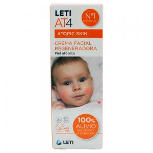 Leti AT-4 Crema Facial Regeneradora Piel Atópica 50ml
