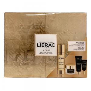 Lierac Cofre Premium Luxury La Cure  (La Cure Anti-edad Absoluta 30ml + Regalo de Crema Voluptuosa 15ml + Premium Mascarilla 10ml + Premium Contorn de Ojos 3ml)