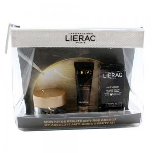 Lierac Travel Kit Premium (Crema Voluptuosa 15ml + Contorno Ojos 3ml + Mascarilla 10ml)