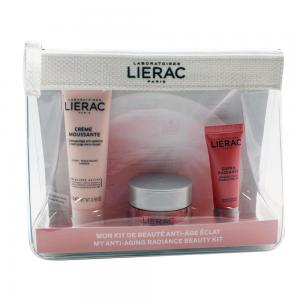 Lierac Travel Kit Supra Radiance (Desmaquillante 30ml + Gel Crema 15ml + Mascarilla 10ml)
