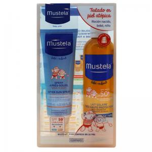 Mustela Leche Solar SPF50 300ml+ Aftersun 125ml