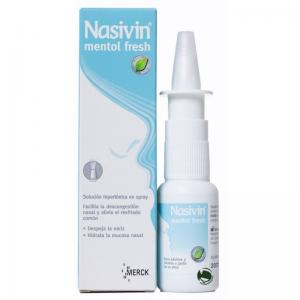 Nasivin Mentol Fresh Spray Solución Nasal 20ml