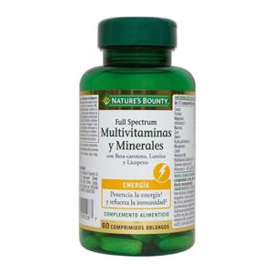 Nature's Bounty Full Spectrum Multivitaminas y Minerales 60 Comp.