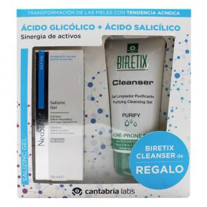 Neostrata Gel Salizinc 100ml + Biretix Cleanser 150ml de Regalo