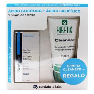 Neostrata Gel Forte Salicílico 100ml + Biretix Cleanser 150ml de Regalo