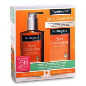Pack Neutrogena Visibly Clear Gel de Limpieza Diario 200ml + Hidratante Oil Free 50ml