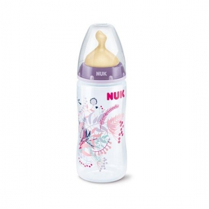 Nuk Biberón First Choice T1 Silicona 300ml.