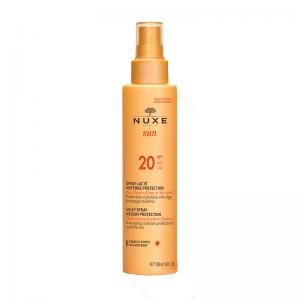 Nuxe Sun Leche Corporal Y Facial Protección Media SPF20 Spray 150ml