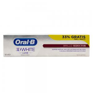 Oral-B 3D White Luxe Brillo Seductor 75ml + 25ml Gratis