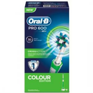 Oral B Cepillo Recargable Pro600 Cross Action Verde