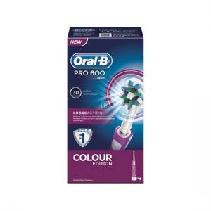Oral B Cepillo Recargable Pro600 Cross Action Morado