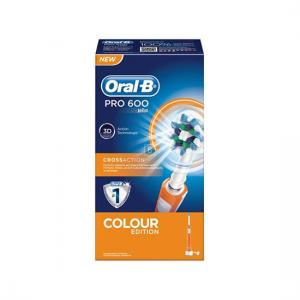 Oral B Cepillo Recargable Pro600 Cross Action Naranja
