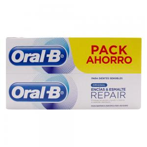 Duplo Oral-B Original Repair Encías y Esmalte 2x100ml