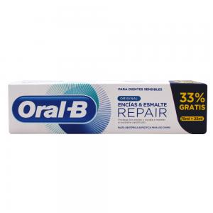 Oral-B Repair Pasta Original Encías y Esmalte 75ml + 25ml Gratis
