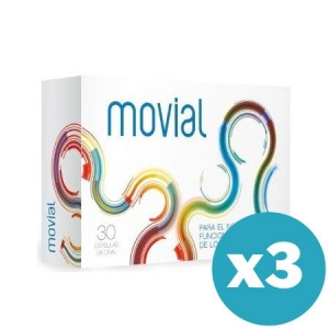 Pack 3 unidades de Movial 30 capsulas