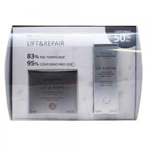 Pack Esthederm Lift & Repair Crema Alisadora Absoluta 50ml + Tratamiento Alisante Contorno Ojos 15ml