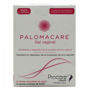 Palomacare Gel Vaginal 6 Cánulas 5ml