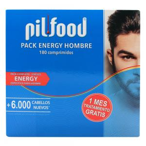 Pilfood Pack Energy Hombre Completo 3 Meses 180 Comprimidos