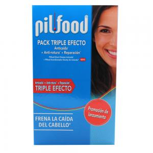 Pack Pilfood Champú Anticaida 200ml + Acondicionador 175ml