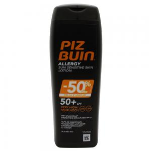 Piz Buin Allergy Loción Solar Piel sensible SPF50 200ml