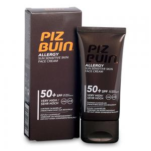 Piz Buin Allergy Crema Facial Piel Sensible SPF50+ 50ml