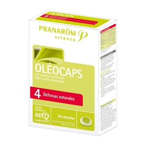 Pranarom Oléocaps 4 Defensas Naturales