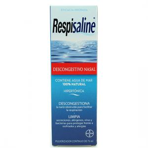 Respisaline Descongestivo Nasal 100% Agua de Mar 75 ml