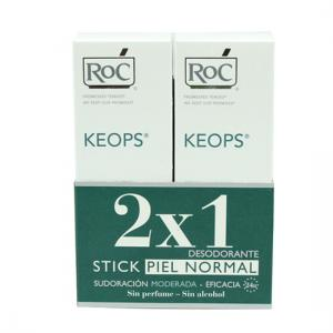 Roc Keops Duplo Desodorante Stick Piel Normal (40ml+40ml)