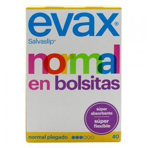 Evax Salvaslip Normal en Bolsitas Súper Flexible 40 unidades
