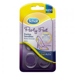 Dr Scholl  Party Feet Puntos Sensibles 6 unidades
