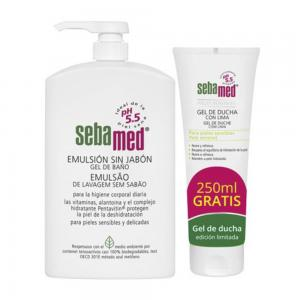 Sebamed  Emulsión Clásica sin Jabón 1000ml + Regalo Gel de Lima 250 ml