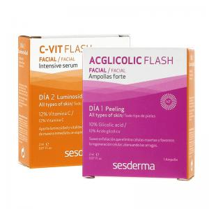 Sesderma C-Vit Tratamiento Flash Luminosidad (peeling + Luminosidad) Bowl