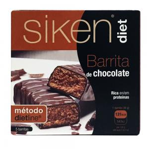 Siken Diet Barritas de Chocolate 5 Unidades