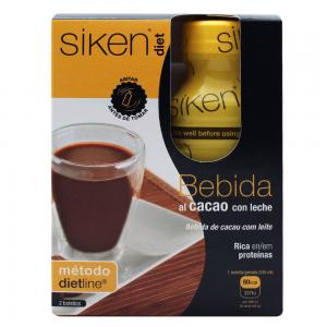 Sikendiet Cacao Botella 2 Unidades x235ml