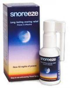 Snoreeze Spray Bucal Para No Roncar 50 Noches