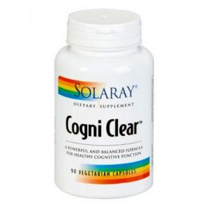Solaray Cogni Clear 90 cápsulas vegetales