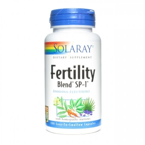 Solaray Fertility Blend 100 cápsulas