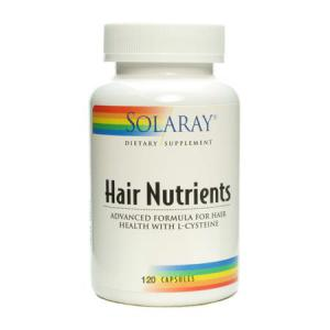 Solaray Hair Nutrients 120 cápsulas